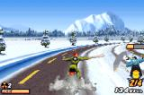 Road Rash: Jailbreak Game Boy Advance In the snow