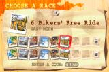 Road Rash: Jailbreak Game Boy Advance When you beat certain modes three more tracks are unlocked (although these are just variations of old tracks)