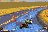 Road Rash: Jailbreak Game Boy Advance Flooded track