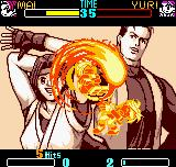 SNK Gals Fighters Neo Geo Pocket Color Like Fatality