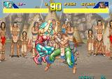 Power Instinct Arcade Native Americans tribe