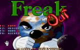 Freak Out Amiga Title and main menu