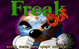 Freak Out DOS Title screen