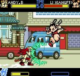 Fatal Fury: First Contact Neo Geo Pocket Color Energy plasma