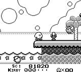 Kirby's Dream Land Game Boy The microphone item can kill all enemies onscreen