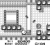 Kirby's Dream Land Game Boy In the castle