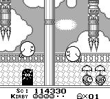 Kirby's Dream Land Game Boy Touch the other Kirby to go to a boss fight