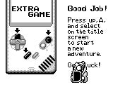 Kirby's Dream Land Game Boy Once you beat the game extra mode is unlocked