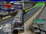 Eighteen Wheeler: American Pro Trucker GameCube Parking challenge is all about tight turns.
