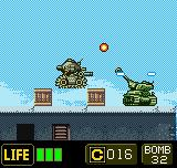 Metal Slug 2nd Mission Neo Geo Pocket Color Tank duel