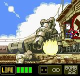 Metal Slug 2nd Mission Neo Geo Pocket Color Boss fight