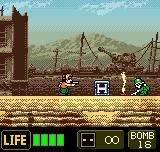 Metal Slug 2nd Mission Neo Geo Pocket Color Second character