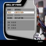 MX vs. ATV Unleashed PlayStation 2 The game's Hall Of Fame. There are multiple events, tracks and records saved here