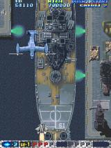 Air Gallet Arcade Plane and boss to blast.