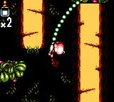 Chuck Rock II: Son of Chuck Game Gear Use the vines to swing across