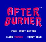 After Burner II NES Title screen