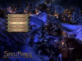 SpellForce: The Order of Dawn Windows Main menu