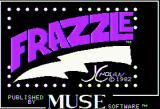 Frazzle Apple II Title screen