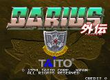 Darius Gaiden Arcade Title Screen.