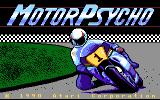 MotorPsycho Atari 7800 Title screen