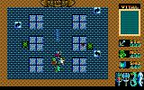 King's Knight Sharp X1 Fifth and final stage - Castle of Isande. You control all 4 characters as one unit. The arrows scattered along the ground rotates the party leader