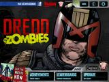 Judge Dredd vs Zombies iPad Title screen