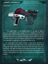 Judge Dredd: Countdown Sector 106 iPad In-game encyclopedia