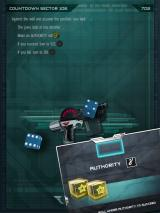 Judge Dredd: Countdown Sector 106 iPad Dice roll