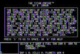 Titan Empire Apple II Your mission, should you choose to accept it...