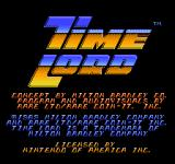 Time Lord NES Title