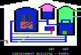 Three Mile Island Apple II Containment building view