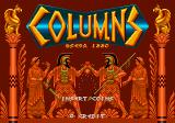 Columns Arcade Title Screen.
