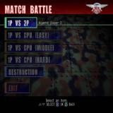 Seek and Destroy PlayStation 2 The Battlemode option from the main menu brings up these options for quick blast of action. The next screen offers the choice of a Battle game or a Mini game