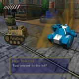 Seek and Destroy PlayStation 2 The mission starts when the animation ends. The chief goodie, in blue, gives the player their orders 'Go left and kill""