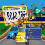 Road Trip PlayStation 2 The game's main menu is just the title screen with a small box in the lower right