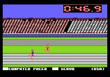 Summer Games Atari 7800 Running a race