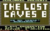 The Lost Caves 8 Commodore 64 Title screen