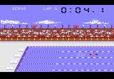 Summer Games Atari 7800 One of the swimming events