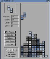 WBtris Amiga Building a tower