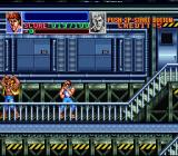 Super Double Dragon SNES Throwing these guys around gets them angry.