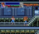 Super Double Dragon SNES Doing it again only makes it worse.