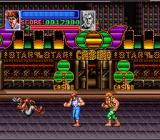 Super Double Dragon SNES Billy Lee, with his Dragon Power bar maxed out.