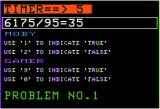 Intellectual Decathlon Apple II Lying Digits