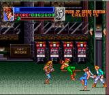 Super Double Dragon SNES Inside the casino, fighting a clone!
