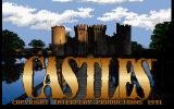 Castles DOS Title screen