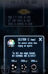 Little Galaxy Android Stuck? The game encourages you to buy a solutron.