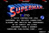 Superman Arcade Title.