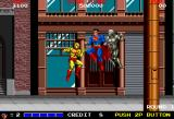 Superman Arcade Start of the Action
