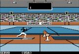 Summer Games Apple II Gymnastics