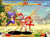 Asura Blade: Sword of Dynasty Arcade Blood hit